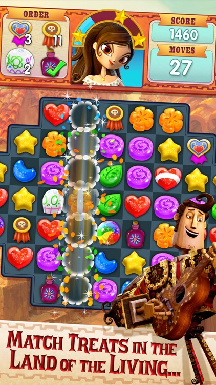 Sugar Smash: Book of Life screenshot-0