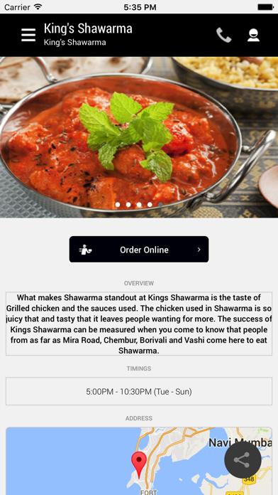 King's Shawarma screenshot two