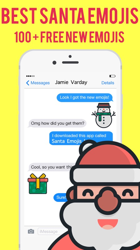 100 Pics Christmas Emoji.3 Minutes To Hack Santa Emojis Christmas Emoji Stickers