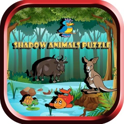 Animals Puzzle Shadow Shape Game: Learn for Kids