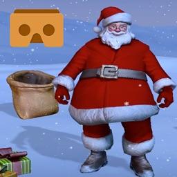 VR Santa Snowball