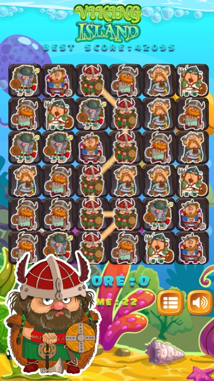 Vikings Puzzle Mania - Match 3 Game for Kids
