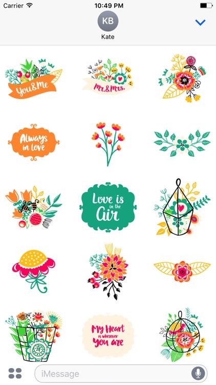 Love Romantic Sticker Pack