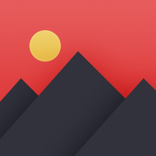 Pixomatic - layer based photo editor app logo