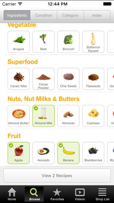 101 Smoothie Recipes Screenshot