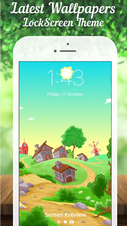 Lock screen Designer - Lockscreen Wallpapers Theme screenshot-4
