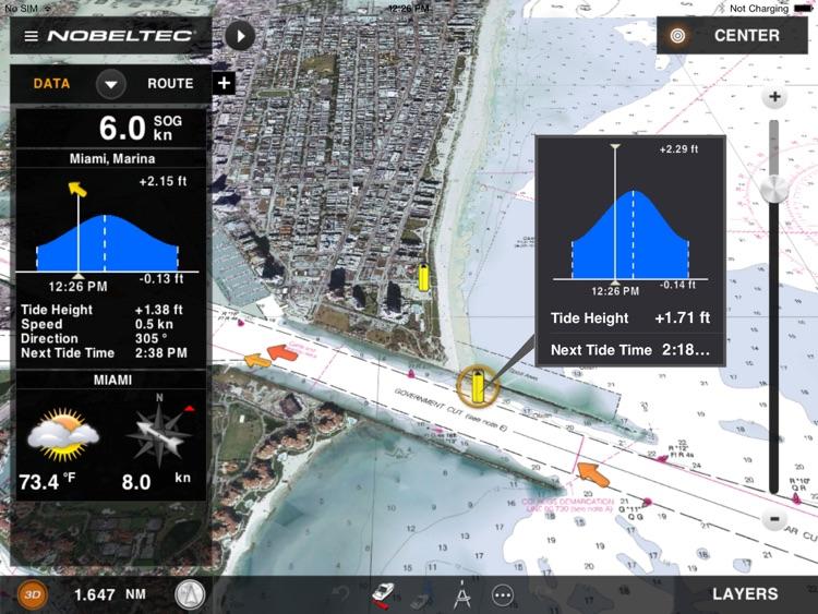 Nobeltec Marine Navigation screenshot-3