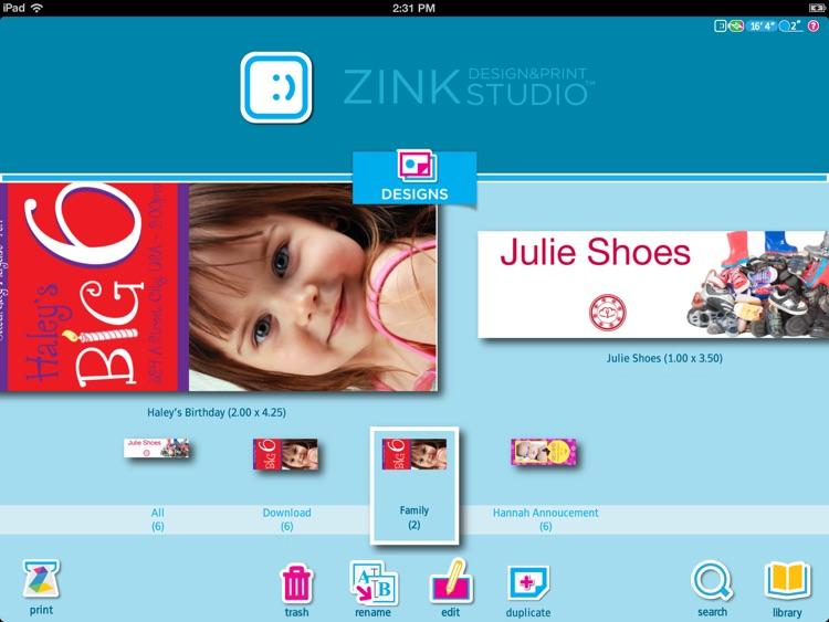 ZINK Print Studio for iPad screenshot-3