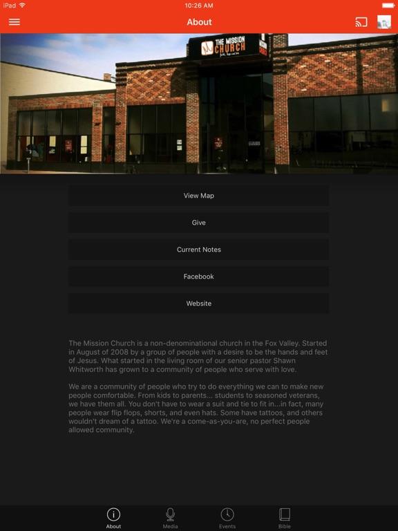 Mission Church Appleton screenshot 4