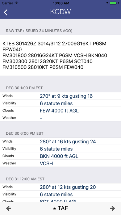 AirWX Aviation Weatherのおすすめ画像3