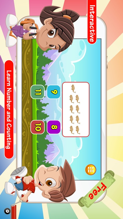 Counting Addition & Subtraction Games For Kids screenshot-3