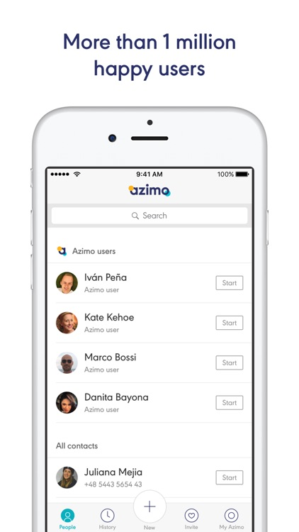 Azimo - Request and receive money