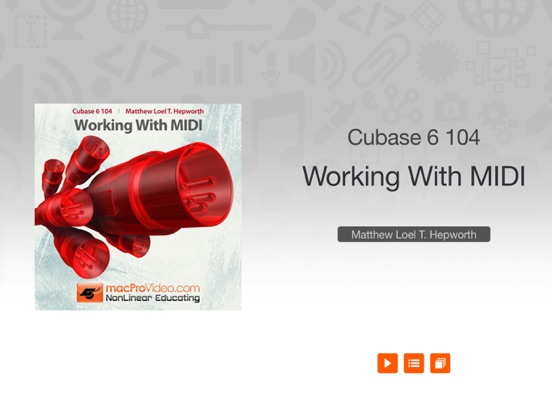 Course For Cubase 6 104 - Working With MIDI | App Price Drops