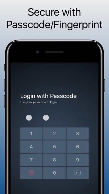 NoteGuard - Securely Store Notes With Fingerprint