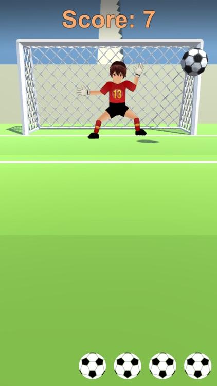 Angry Soccer Goalkeeper screenshot-3