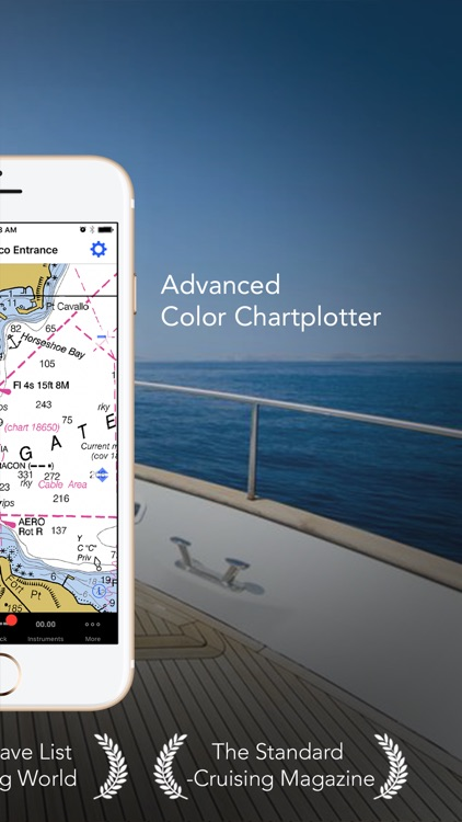 iNavX – Sailing, Boating and Marine Navigation app image