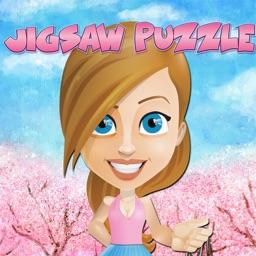girls jigsaw puzzle cartoon games