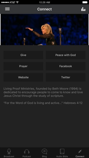 Living Proof with Beth Moore on the App Store
