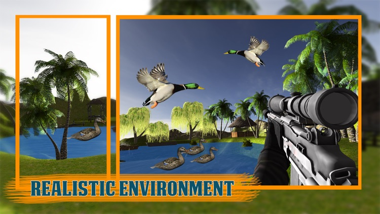 Modern Bird Hunter 2017: Duck hunting game 3D screenshot-3