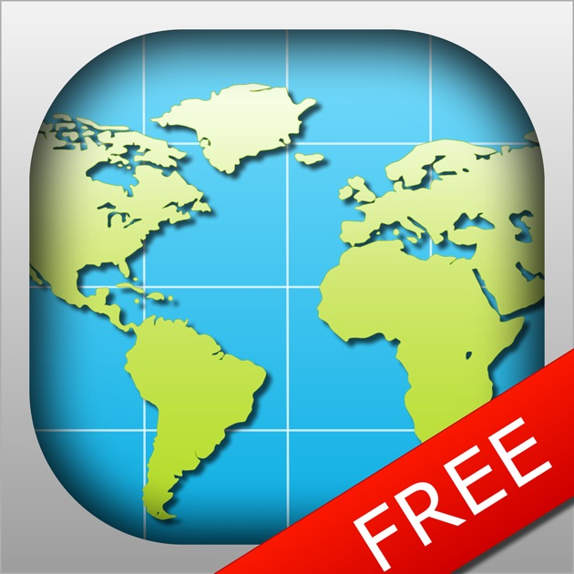 World Map FREE On The App Store - World map images with country names pdf