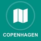 Copenhagen, Dinamarca : Off-line GPS Navigation icon