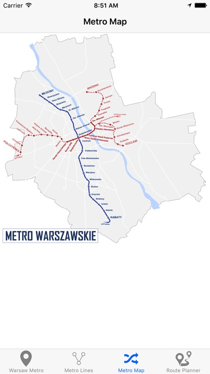 Warsaw Metro & Subway screenshot-4