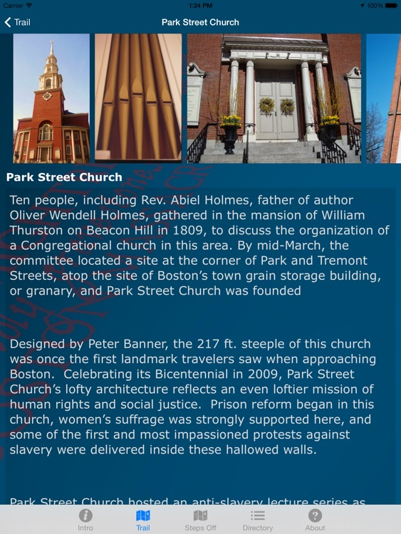 Freedom Trail® Official App (for iPad)