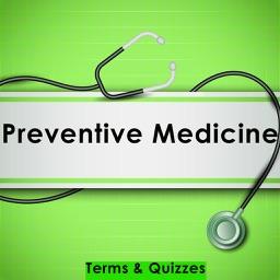 Preventive Medicine Exam Review App : Notes & Q&A