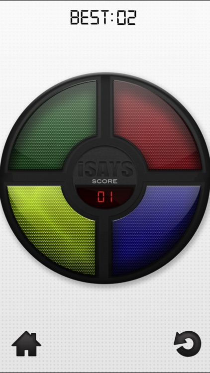 iSays Free - Simon Says Classic Color Memory Game screenshot-2