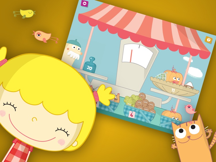 Terri at the Market - Interactive book for Kids screenshot-3