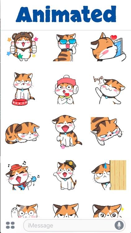 Cute Meow Animated screenshot-3
