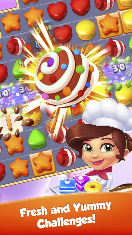 Cake Legend - Match 3 Puzzle Game!