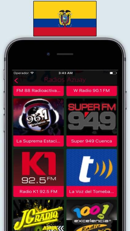 Radios Ecuador FM AM / Radio Stations Online Live