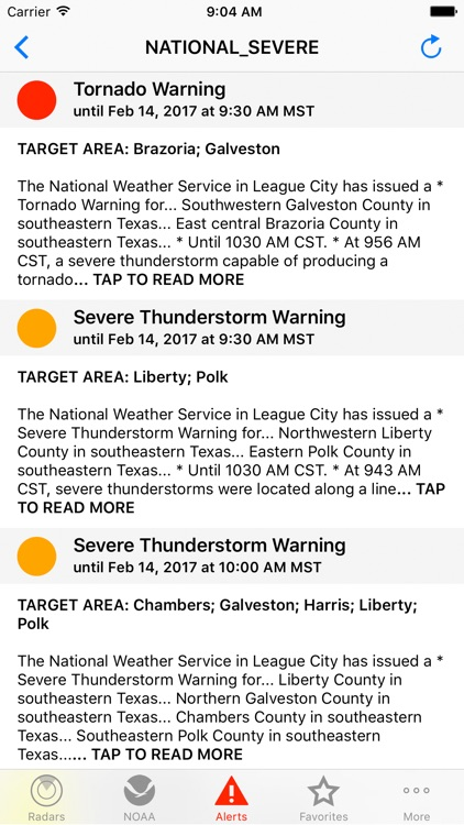 NOAA Weather Radar screenshot-3