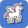 Unicorn Animated Sticker Set