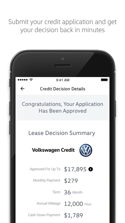 Volkswagen Credit screenshot-4