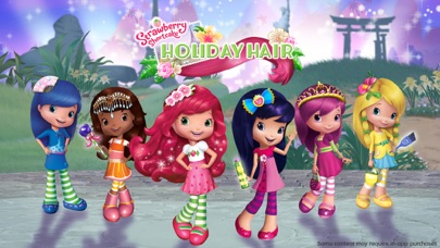 Strawberry Shortcake Holiday Hair - Fashion World Screenshot