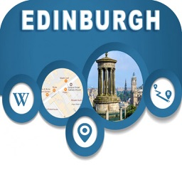 Edinburgh UK Offline City Maps Navigation