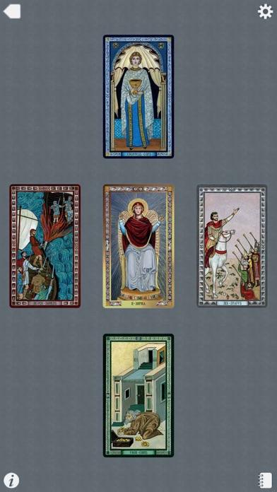 The Byzantine Tarot-4
