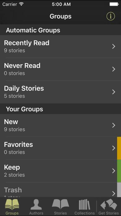 Short Stories eReader