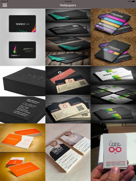 Business cards best design idea for business card app price drops screenshot 1 for business cards best design idea for business card colourmoves