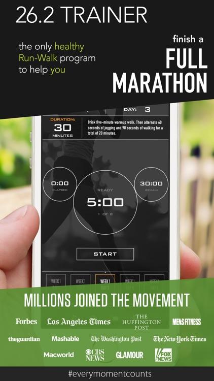 26.2 Marathon Trainer screenshot-0