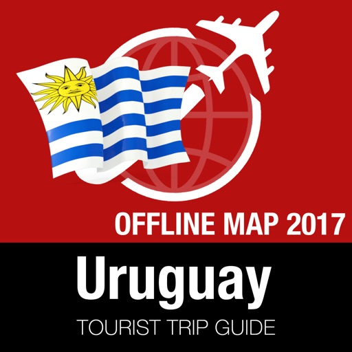 Uruguay Tourist Guide + Offline Map