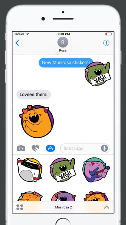 Musirosa Stickers s2 screenshot-4