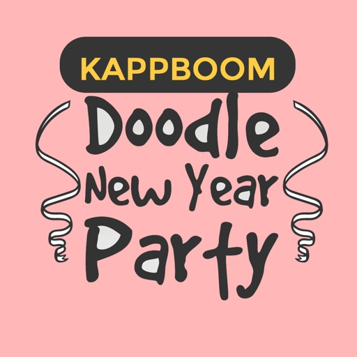 New Year Party Sticker