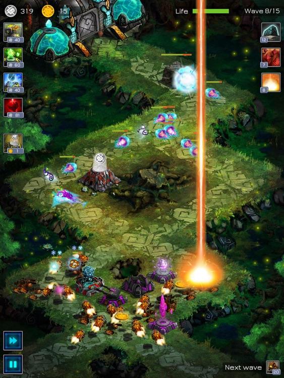 Ancient Planet Defense HD screenshot-0