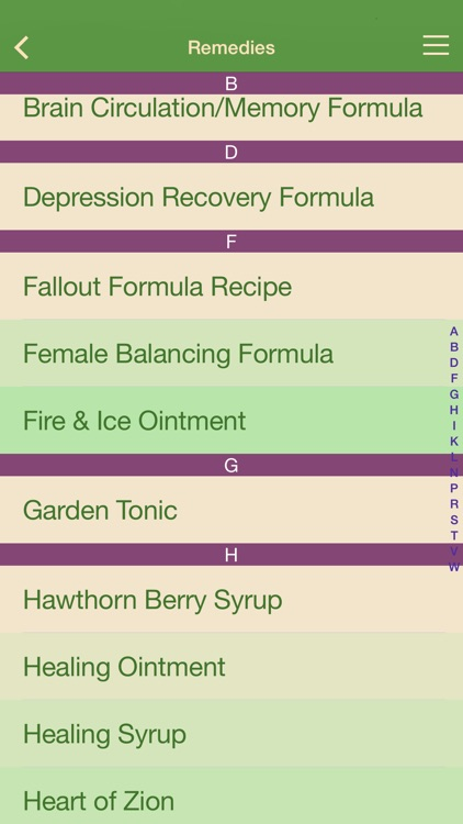 Herbal Remedies - Healing at Home screenshot-1