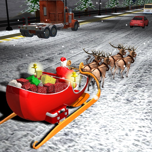 Mini Santa Racing Adventures