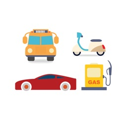 Transportation Sticker Pack: Vehicles and cars