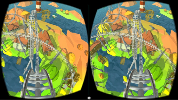 Roller Coaster VR Island for Google Cardboard